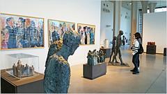 Rétrospective Mady Andrien de 1962 à nos jours, Musée de la Boverie, Liège, Belgium (claude lina) Tags: claudelina belgium belgique belgië liège musée museum laboverie oeuvre sculpture madyandrien peinture painting