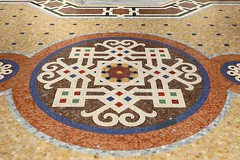 Galleria Vittorio Emanuele II (1865-67) # 2 Mosaico (just.Luc) Tags: mozaïek mosaik mosaic mosaico mosaïque cirkel kreis cercle circle cerchio circulo italia italy italien italie italië floor vloer milaan milan milano mailand lombardije lombardei lombardy lombardie lombardia europe europa