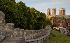 City Walls and Minster, York (S.R.Murphy) Tags: landscape urbanlandscape york architecture urban yorkshire england uk greatbritain yorkminster cathedral yorkcathedral citywalls flickrexplore05062019 flickr60explore05062019