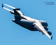 LOOKING AT A C-17 STARTING TO TURN AROUND WITH FLAPS DOWN (AvgeekJoe) Tags: 066159 100400mmf563 21stas 21stasbeeliners 21stairliftsquadron 21stairliftsquadronbeeliners 349thamw 349thairmobilitywing 60thamw 60thairmobilitywing amc airforcereservecommand airmobilitycommand beeliners boeingc17 boeingc17globemasteriii c17 c17globemasteriii d5300 dslr globemaster globemasteriii nikon nikond5300 other p159 sigma sigma100400mmf563 sigma100400mmf563dgoshsmcontemporary spiritofgoldengate spiritofthegoldengate usairforce usaf usafairmobilitycommand usafreserve aircraft airplane aviation cargoaircraft cargojet militaryaviation militarytransport plane telephotolens