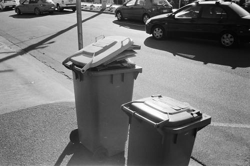 Jam-packed bin