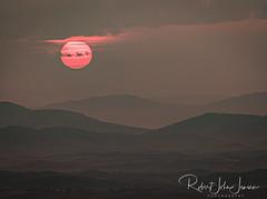 Bleak Sunset From Steptoe Butte (~ Bob ~) Tags: canadawildfire landscape layers mars haze easternwashington steptoebutte palouse nikon feisol wheatfields martian dehaze