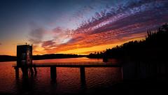Portodemouros (Noel F.) Tags: portodemouros vila de cruces arzua galiza galicia sony a7 iii voigtlander 15 vm panorama a7iii sunrise mencer embalse encoro