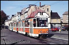 315-1991-10-4-1-Wiesenstraße (steffenhege) Tags: gera gvb strasenbahn streetcar tram tramway tatra kt4d ckd 315