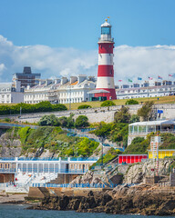 Plymouth Hoe (Rich Walker Photography) Tags: plymouth devon plymouthhoe plymouthsound landscape landscapes landscapephotography landmarks landmark england canon eos eos80d lighthouse lighthouses coast coastline coastal