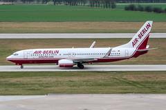 D-ABBJ (PlanePixNase) Tags: aircraft airport planespotting haj eddv hannover langenhagen airberlin boeing 737 737800 b738