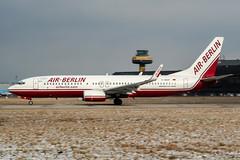 D-ABAF (PlanePixNase) Tags: aircraft airport planespotting haj eddv hannover langenhagen airberlin boeing 737 737800 b738