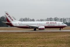 D-ABAM (PlanePixNase) Tags: aircraft airport planespotting haj eddv hannover langenhagen airberlin boeing 737 737400 b734