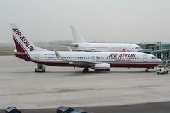D-ABBA (PlanePixNase) Tags: aircraft airport planespotting haj eddv hannover langenhagen airberlin boeing 737 737800 b738