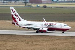 D-ABBS (PlanePixNase) Tags: aircraft airport planespotting haj eddv hannover langenhagen airberlin boeing 737 737700 b737