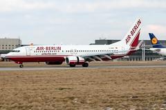 D-ABBP (PlanePixNase) Tags: aircraft airport planespotting haj eddv hannover langenhagen airberlin boeing 737 737800 b738