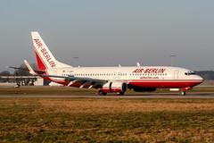 D-ABBH (PlanePixNase) Tags: aircraft airport planespotting haj eddv hannover langenhagen airberlin boeing 737 737800 b738
