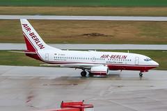 D-ABAA (PlanePixNase) Tags: aircraft airport planespotting haj eddv hannover langenhagen airberlin boeing 737 737700 b737