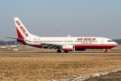 D-ABAX (PlanePixNase) Tags: aircraft airport planespotting haj eddv hannover langenhagen airberlin boeing 737 737800 b738