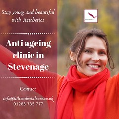 Anti ageing clinic Stevenage (aesthetics dentistry) Tags: botulinum toxin injection beauty care clinic excessieve sweating treatment