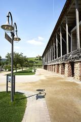 Gradierbau in Bad Dürkheim (Manfred Hofmann) Tags: bild farbe öffentlich flickr orte brd kurpfalz projekte jahreszeiten baddürkheim pfalz