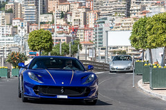 Ferrari 812 Superfast (Alexandre Prevot) Tags: monaco mc voiture european cars automotive automobile exotics exotic supercars supercar worldcars auto car berline sport route transport déplacement parking luxe grandestsupercars ges montecarlo montecarlu 98000