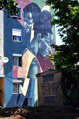 Quinta do Mocho - Loures (Portugal) (jaime.silva) Tags: quintadomocho portugal portugalia portugalsko portugália portugalija portugali portugale portugalsk portogallo portugalska portúgal portugāle lisboa lisbon lisbonne lissabon lisszabon lisbona lisabona lisabon lissabonin lissaboni lisabonos lisabonas lizbona lizbon lizbonska loures sacavem streetart streetartist street muralpainting mural pinturamural spraypaint spray spraypainting graffiti graf publicart urban urbanart arteurbana alanmayers