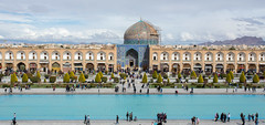La mosquée du Cheikh Loftollah (hubertguyon) Tags: iran perse persia asie asia moyen middle proche orient east ispahan esfahan isfahan ville city place imam