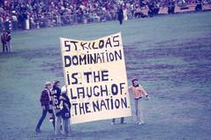 70's Aussie Rules Agfacolor slides (1) (mjcas) Tags: agfacolor foundphoto aussierules football stkilda sport 70s