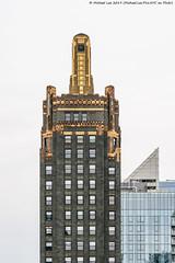 Carbide and Carbon Building (20190524-DSC08188) (Michael.Lee.Pics.NYC) Tags: chicago carbideandcarbonbuilding londonhouse hotelview stjanechicagohotel architecture artdeco sony a7rm2 fe24105mmf4g