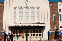 6. Assembly Hall of Jehovah's Witnesses, Northenden (joe.mckie) Tags: pentaxmesuper 35mm kodakgold200 35mmfilmphotography