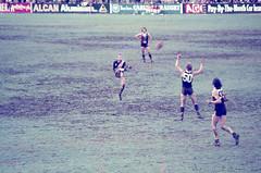 70's Aussie Rules Agfacolor slides (3) (mjcas) Tags: agfacolor foundphoto aussierules football stkilda sport 70s