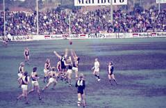70's Aussie Rules Agfacolor slides (2) (mjcas) Tags: agfacolor foundphoto aussierules football stkilda sport 70s