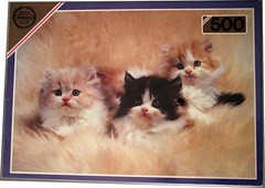 "FALCON 2 500 CATS' 20X13.75CM PO 3175 THREE KITTENS DELUXE (Andrew Reynolds transport view) Tags: jigsaw ""jigsaw puzzle"" picture pieces large difficult falcon hobby leisure pasttime f 2 500 cats 20x1375cm po 3175 three kittens { ar} deluxe"