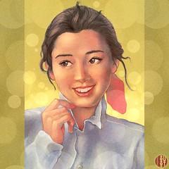Rie (hinxlinx) Tags: dailyart illustration digitalart digitalpainting portraitart femaleportrait miyazawarie miyazawa rie 宮沢りえ hinxlinx ericlynxlin elynx 軒 instaart artofinstagram