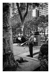 FILM - Juggling (fishyfish_arcade) Tags: 35mm analogphotography bw blackwhite blackandwhite canonsureshotz135 filmphotography filmisnotdead hp5 istillshootfilm monochrome newyork analogcamera compact film ilford mono bryantpark streetphotography