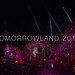 Illuminated main stage by night at open air electro festival Tomorrowland 2019