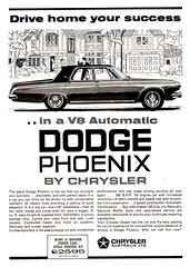 1963 TD2 Dodge Phoenix 4 Door By Chrysler Aussie Original Magazine Advertisement (Darren Marlow) Tags: 1 2 3 6 9 19 63 1963 t d td td2 dodge p phoenix c chrysler s sedan plymouth car cool classic a automobile v us usa america 60s collectible collectors united states american vehicle u