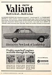1968 VE Chrysler Valiant VIP Sedan 3 Safety Matched Engines Aussie Original Magazine Advertisement (Darren Marlow) Tags: 1 6 8 9 19 68 1968 v i p vip c chrysler valiant s sedan car cool collectible collectors classic a automobile vehicle aussie australian australia 60s