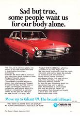 1969 VF Chrysler Valiant Regal Aussie Original Magazine Advertisement (Darren Marlow) Tags: 1 6 9 19 69 1969 v f vf valiant c chrysler s sedan car cool collectible collectors classic a automobile vehicle aussie australian australia 60s