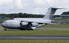 C17  66154 (TF102A) Tags: c17 usaf usairforce 66154 aviation aircraft airplane prestwick prestwickairport
