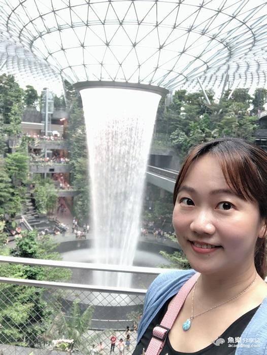 【新加坡】世界最大室內瀑布│樟宜機場星耀樟宜Jewel Changi @魚樂分享誌