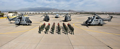 Los nuevos Súper  Puma de la Base Aérea de Gando (Ejército del Aire Ministerio de Defensa España) Tags: helicóptero gando baseaérea airbase superpuma helicopter helicópteros hd21 h215 82grupo canarias sar searchandrescue salvamentomarítimo búsquedaysalvamento rescate atlántico fir