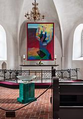 Ringkøbing Kirke (ulrichcziollek) Tags: dänemark ringkøbing kirke gotik gotisch kirchenschiff