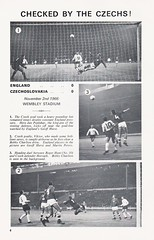 England vs Wales - 1966 - Page 4 (The Sky Strikers) Tags: england wales european championship qualifying tie football association international match henri delaunay cup official programme one shilling wembley empire stadium