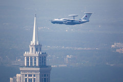 A50_preparade19 (Mikhail Serbin) Tags: planes russia moscow moscowcity репетицияпарада il76 ilyushin ил илюшин ил76 a50 москва planesppoting