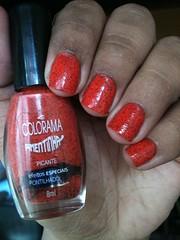👑 Picante - Colorama 👑 (ACRibeiro) Tags: 2019 colorama pimentinha desafiodadisney desafio coral pulguento unhasvermelhas esmaltecoral 5free hipoalergênico picante