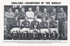 England vs Wales - 1966 - Page 5 (The Sky Strikers) Tags: england wales european championship qualifying tie football association international match henri delaunay cup official programme one shilling wembley empire stadium