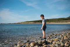 Tom (~ Jessy S ~) Tags: nikon d750 nikkor 50mm 18 child children enfant kids kid family holiday famille vacances beach plage sea mer ocean blue sky ciel bleu colorful sun soleil boy portrait human