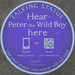 Hear Peter the Wild Boy here
