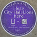Hear City Hall Lions here