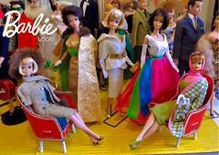THE BARBIE LOOK! (ModBarbieLover) Tags: barbie doll mattel fasjhion 1965 1966 americangirl toy fashion golden bubblecut blonde brunette titian vintage