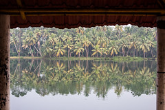 Munroe Island Framed (Geraint Rowland Photography) Tags: framing naturalframe composition aframewithinaframe compositionaltechniquesinphotography munroeisland kollam india travelinindia kerala reflections images stockphotography water river canon canonindia geraintrowlandphotographyblog backwaters inlandinland beauty naturalwonder frame