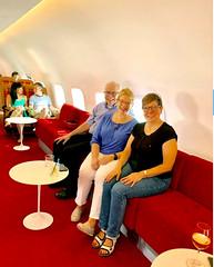 Inside the Connie, the TWA Hotel's airplane (JFGryphon) Tags: 1958lockheedconstellation connieairplane 1958 lockheedconstellation twahotel jfk idlewild uberretro