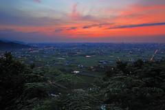 台灣蘭陽平原日出火燒雲 (黃昱峰) Tags: 台灣 宜蘭 蘭陽平原 日出 火燒雲 風景 taiwan sunset fire cloud landscape canon eos r ef1635mm f28l ii usm